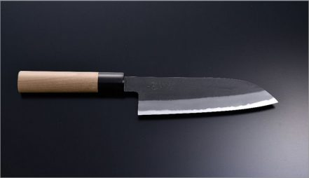 Chouzaburou Santoku Knife165mm double bevel